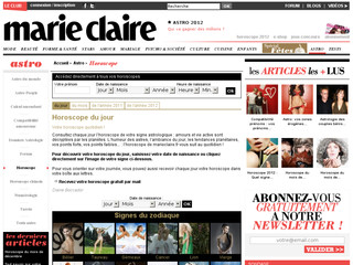 Horoscope Marie Claire