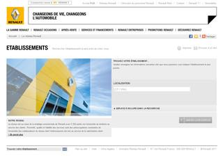 Concessionnaires Renault