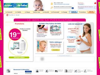Autour de bébé liste de naissance