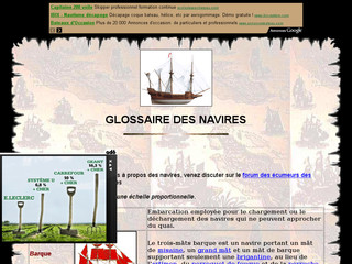 Glossaire des navires