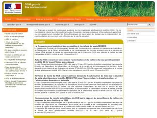 OGM .gouv .fr
