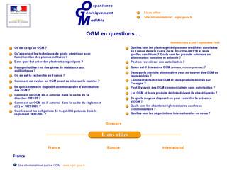 OGM minefi .gouv .fr