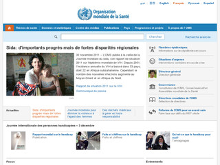 OMS Organisation mondiale de la Santé