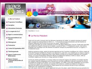 5ème Congrès de la Société Française de Médecine d'Urgence