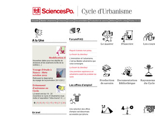 Cycle d'urbanisme de Sciences Po