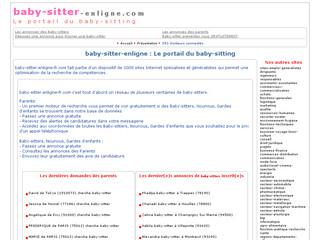 Baby Sitter en Ligne