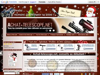 Achat Télescope