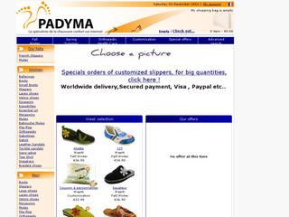 Chaussures padyma .com