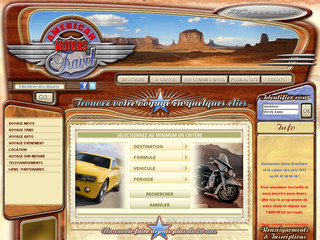 Etats unis en moto