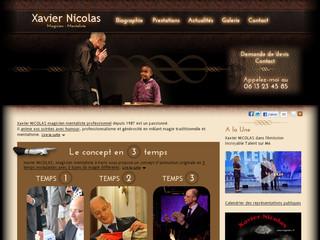 Xavier Nicolas magicien