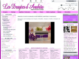 Les Dragées d'Anahita