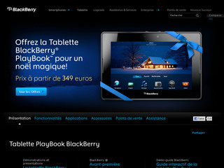 Tablette Tactile BlackBerry