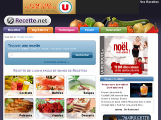 Recette .net