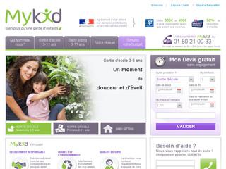 MyKid - Garde d'enfants