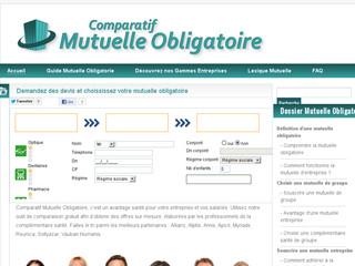 Comparatif mutuelle obligatoire