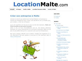 Louer à Malte
